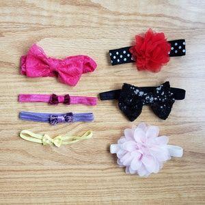 7 Baby Girl Headbands